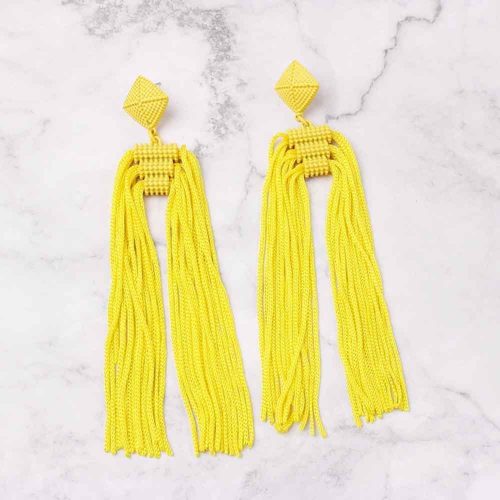 Women-Fashion-Rhinestone-Long-Tassel-Dangle-Earrings-Fringe-Drop-Jewelry-Gift-UK thumbnail 210