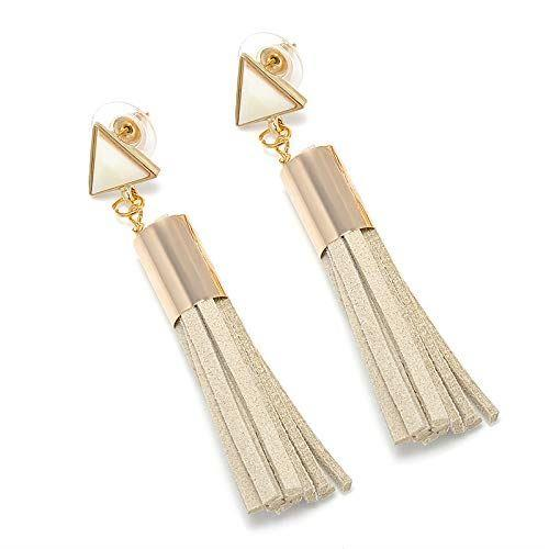 Women-Fashion-Rhinestone-Long-Tassel-Dangle-Earrings-Fringe-Drop-Gift-60-Design thumbnail 17