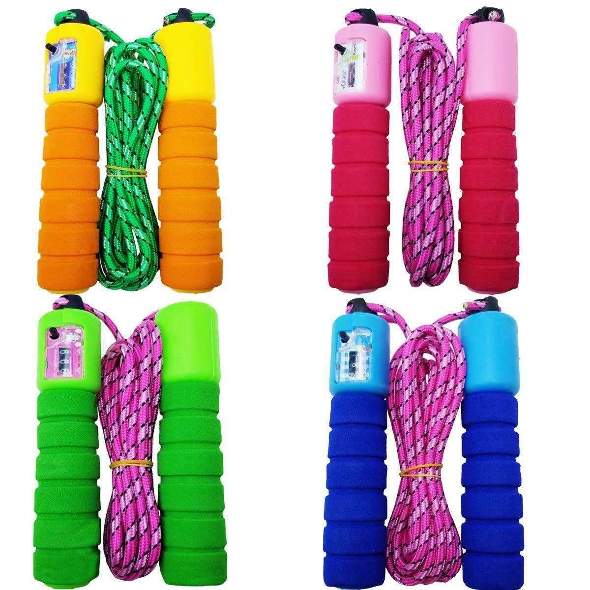 Kids Wooden Skipping Rope Children Exercise Jumping Game Fitness Boxing Gym NEW