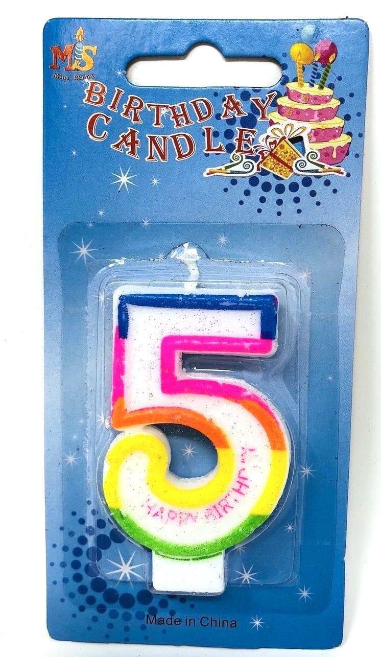 Birthday-Cake-Toppers-Number-Candles-Party-Candle-Numbers-Girl-1st-2nd-5th-10th thumbnail 14