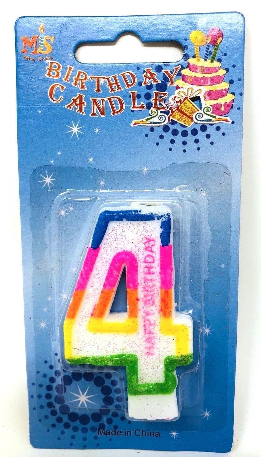 Birthday-Cake-Toppers-Number-Candles-Party-Candle-Numbers-Girl-1st-2nd-5th-10th thumbnail 12