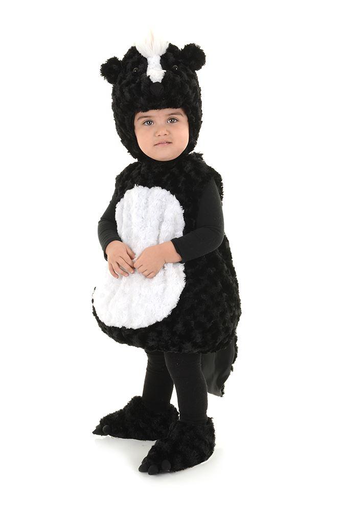 Skunk-Animal-Lil-Stinker-Kids-Toddler-Plush-Halloween-  sc 1 st  eBay & Skunk Animal Lil Stinker Kids Toddler Plush Halloween Costume | eBay