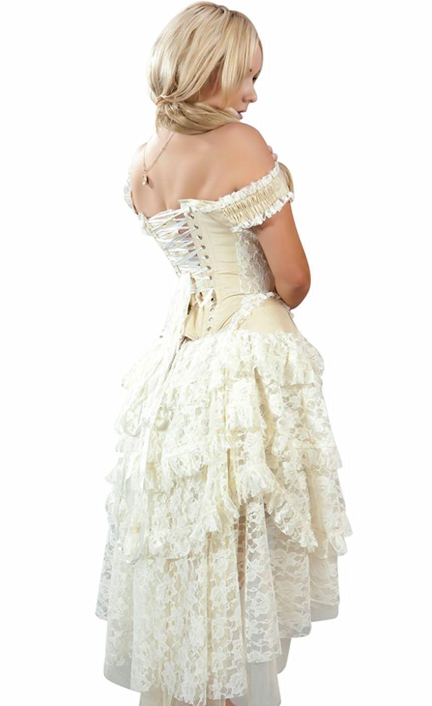 Ophelie Corset Dress Cosplay Steampunk Victorian Bridal by Burleska ...