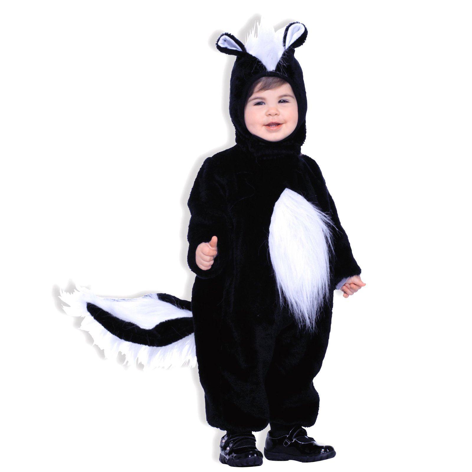 baby skunk costume plush furry kids toddler halloween | ebay