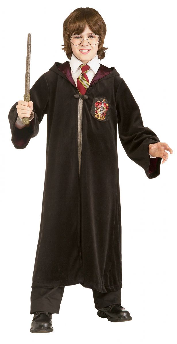 premium harry potter gryffindor robe kids boys halloween