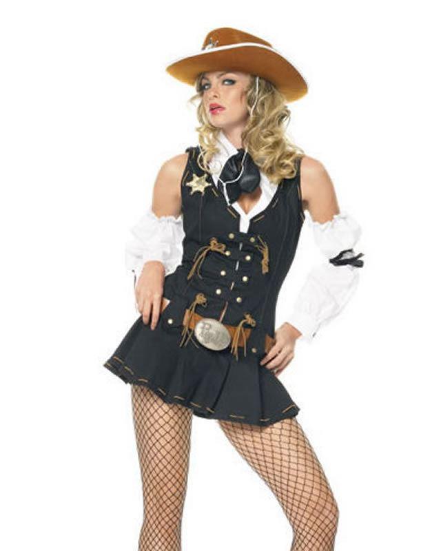 Medium Bodysocks Female Wild West Indian Fancy Dress Costume