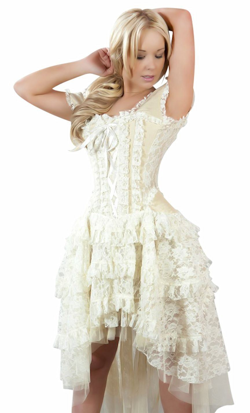 Ophelie Corset Dress Cosplay Steampunk Victorian Bridal by ...