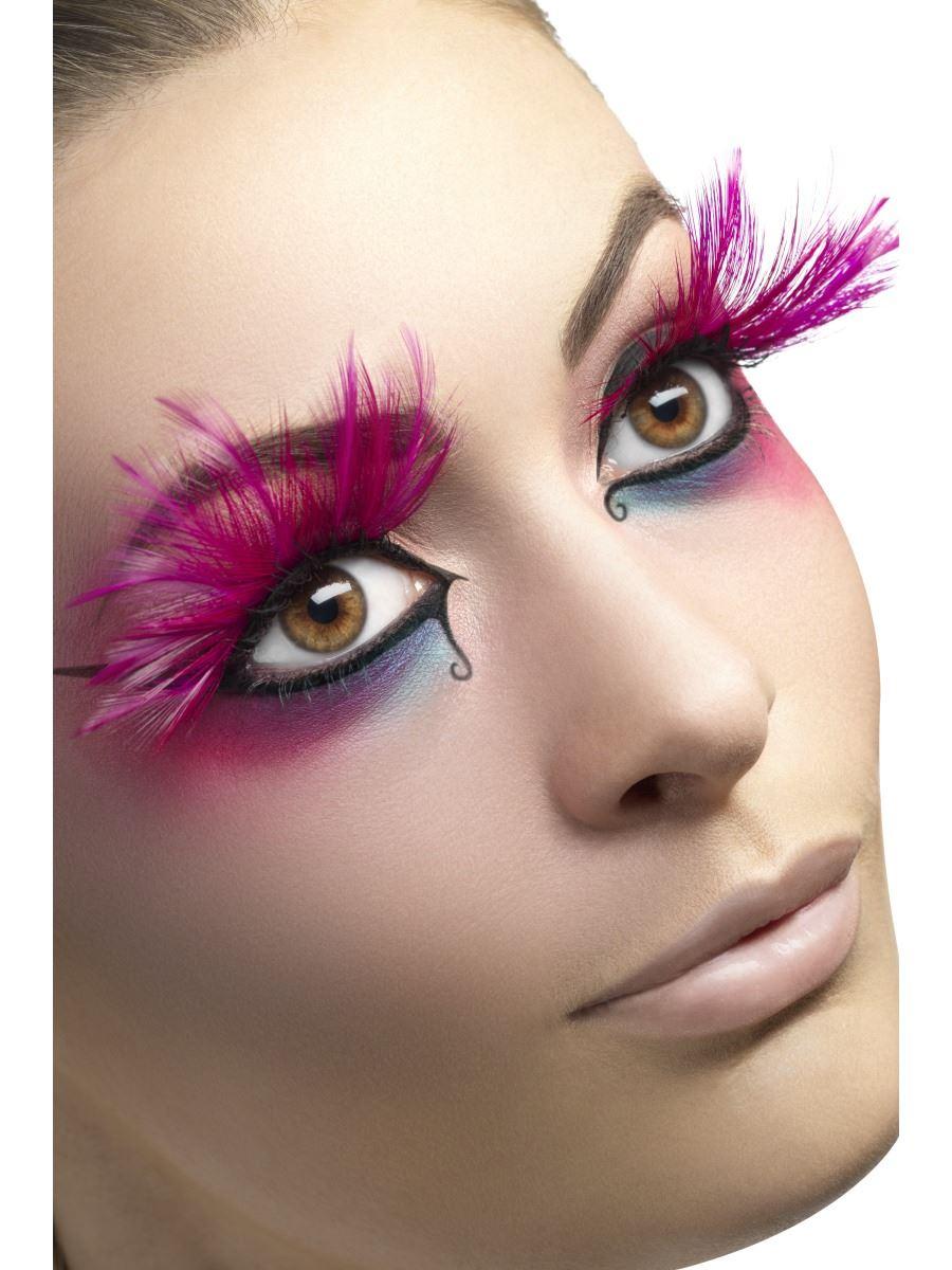 Smiffys False Eyelashes Diva Womens Photo Shoot Model Costume