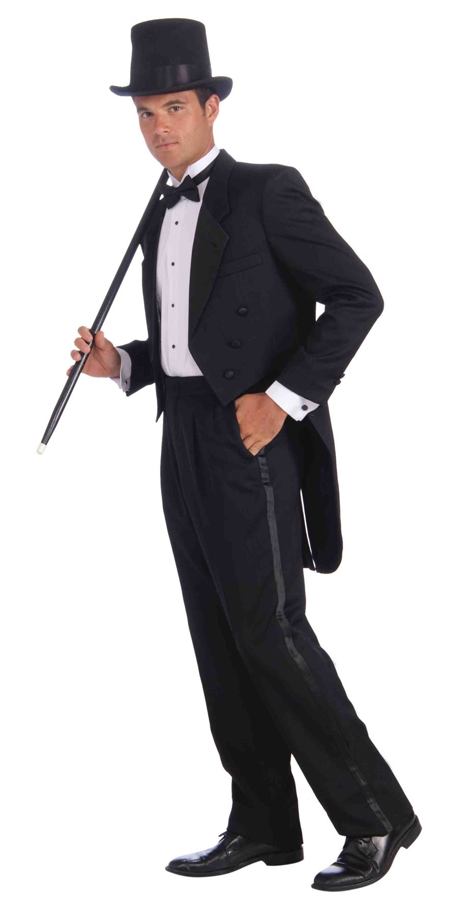 Vintage Hollywood Tuxedo Adult Mens Halloween Oscars Costume