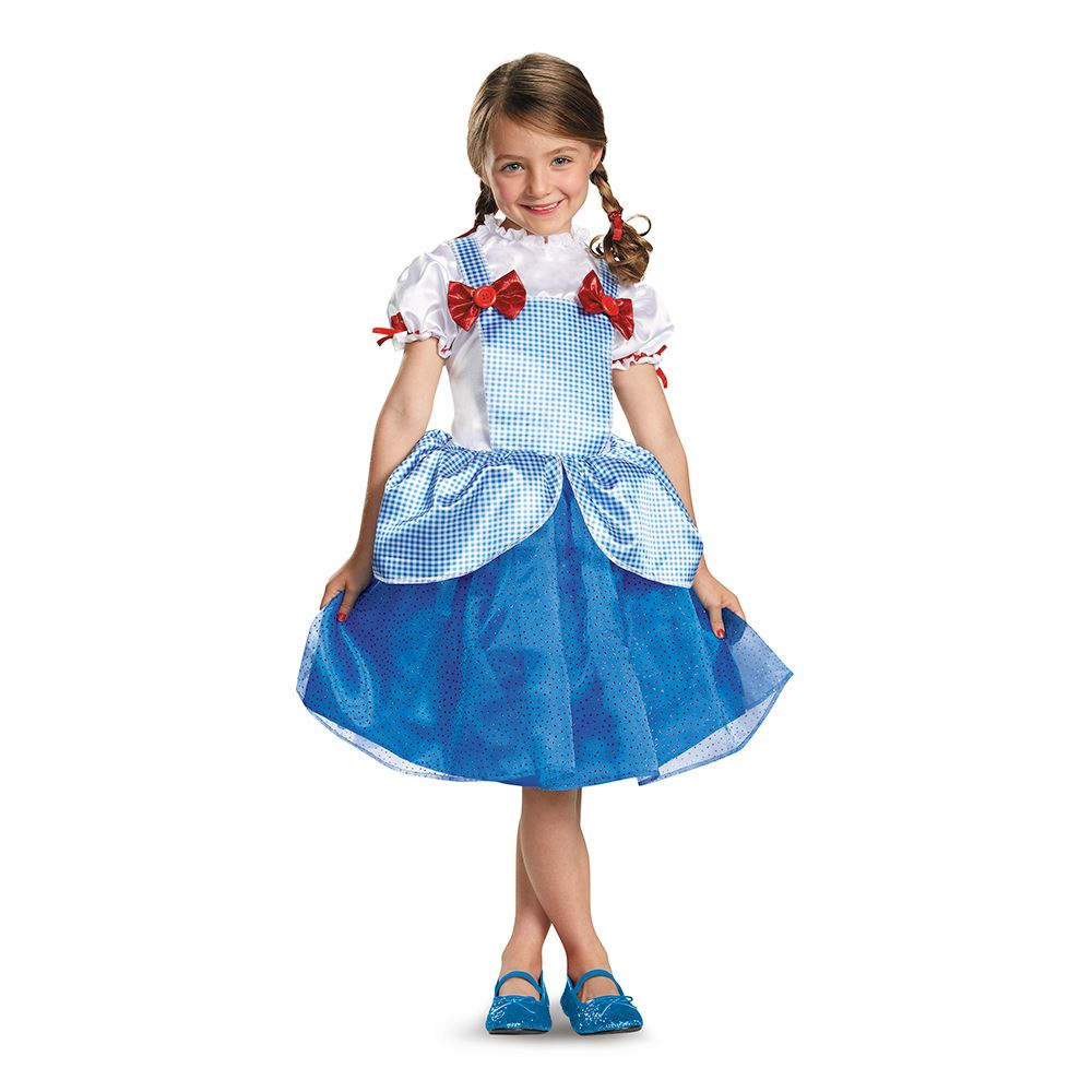 dorothy wizard of oz girls kids halloween costume | ebay