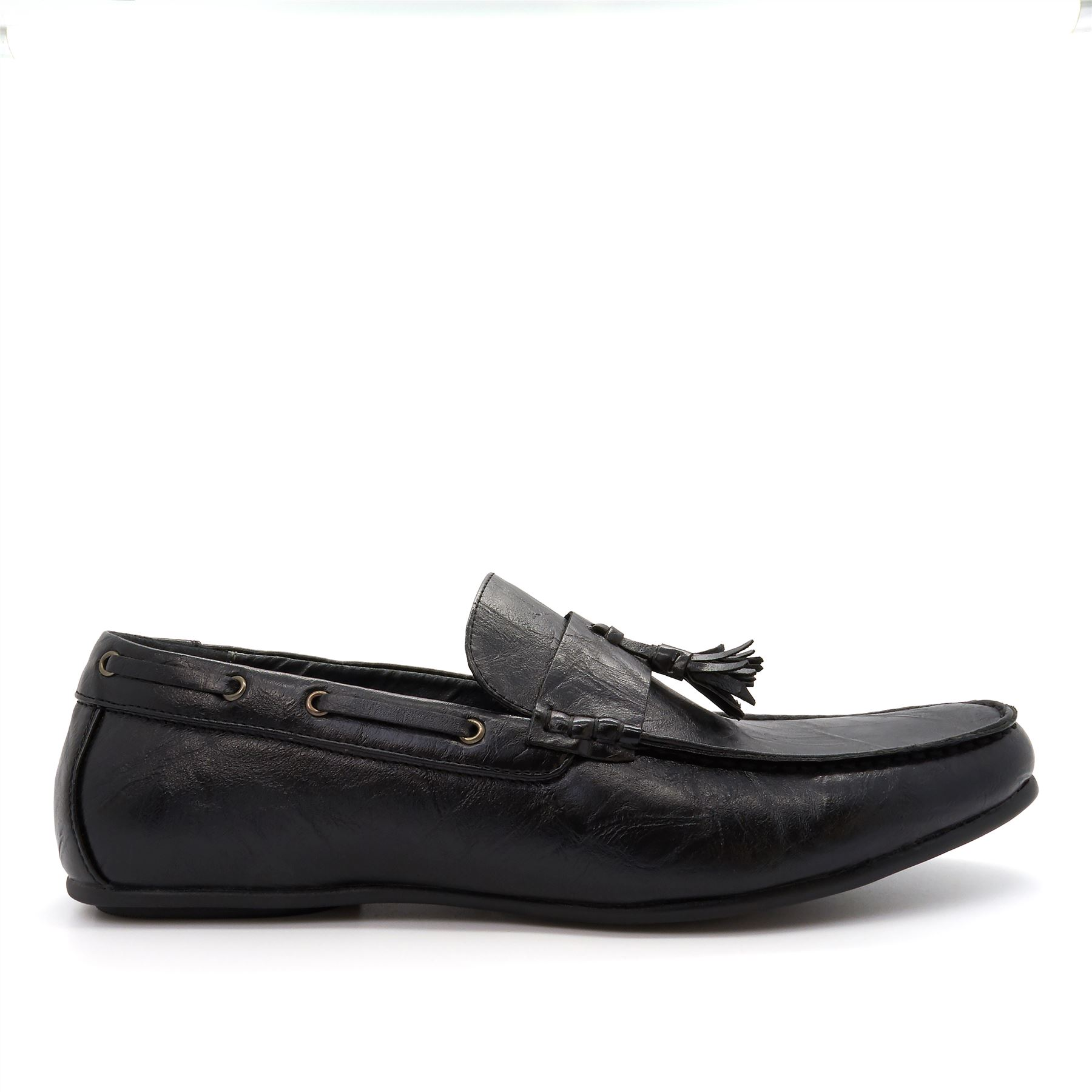 Slip On Faux Leather Shoes