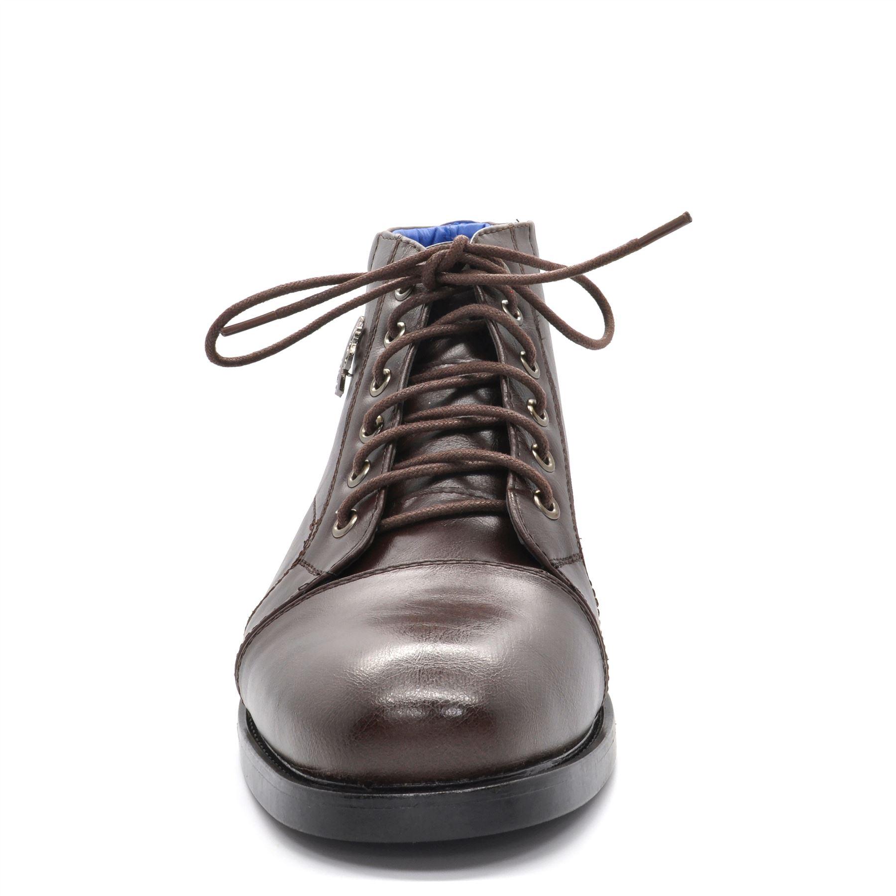 Nouveau daim homme casual en daim Nouveau cuir désert bottines smart lacets chaussures confort uk f9cedf
