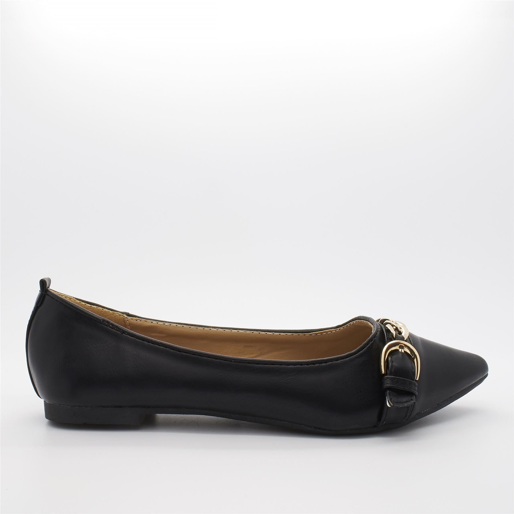 After Party Pumps Ballet Mujer, Color Negro, Talla M