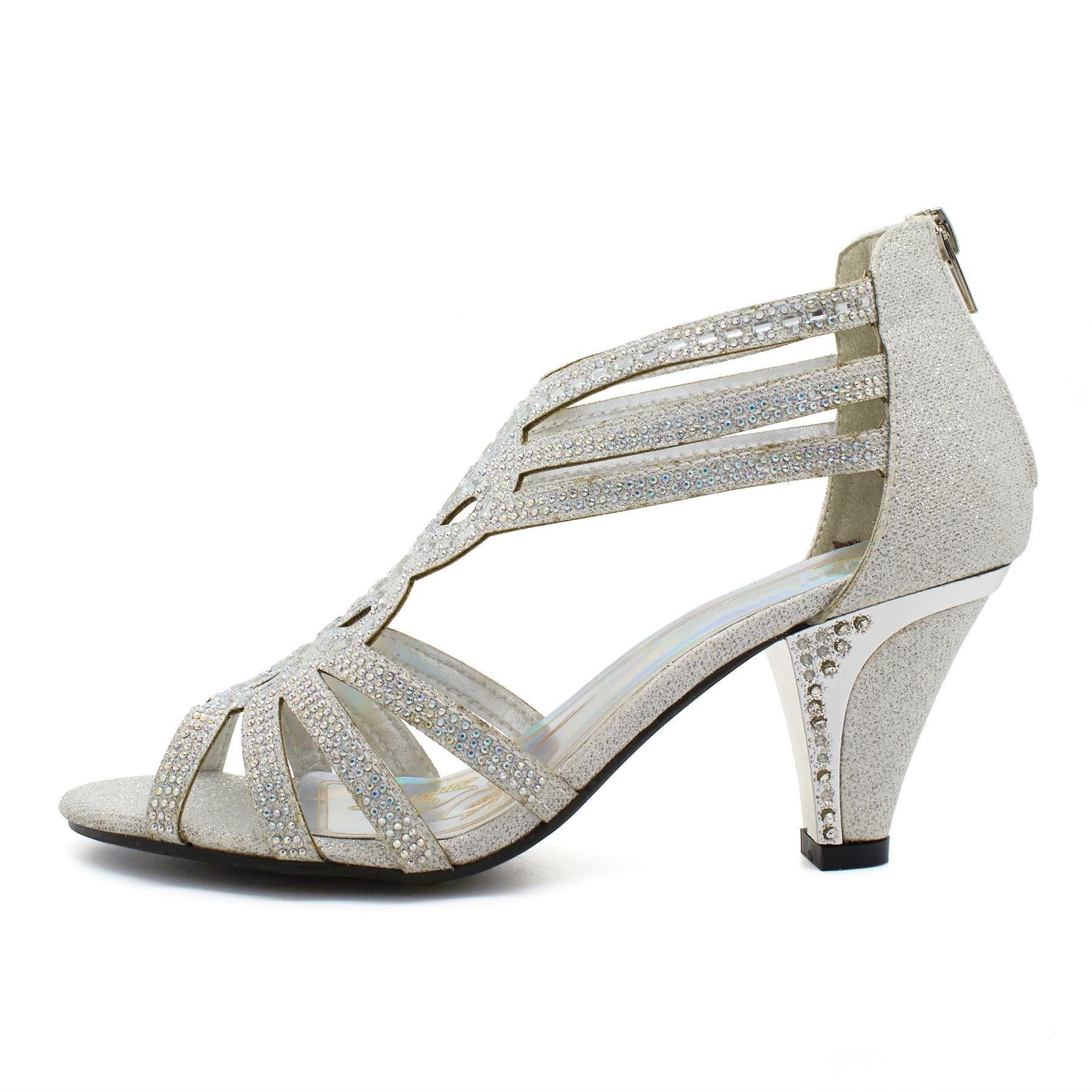 Mid Heel Wedding Shoes Uk
