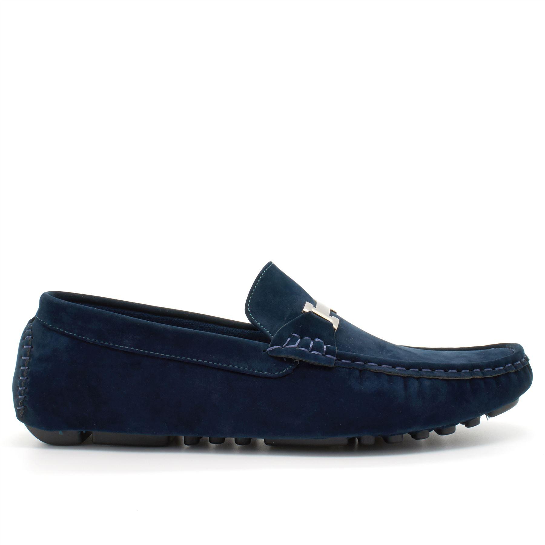 New Mens Faux Suede Casual Loafers Moccasins Slip On Shoes