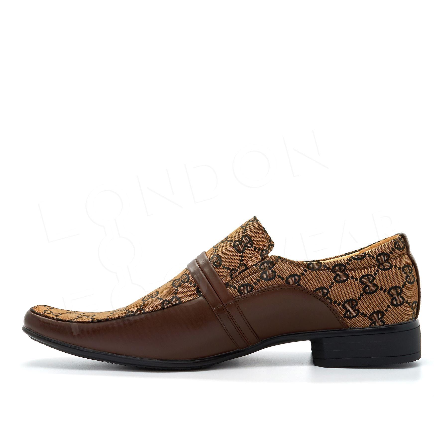 Nuevos Zapatos Negro para Hombre Italiano Inteligentes Fiesta Boda Vestido Formal imitación de cuero 6-11