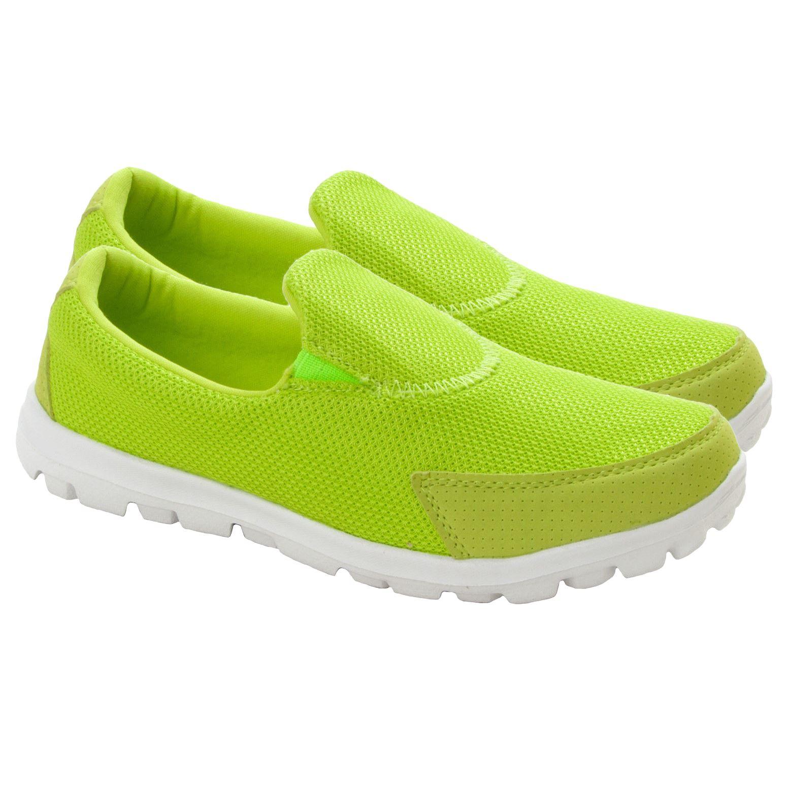 Trainers Pumps Ladies Flat Shoes Size