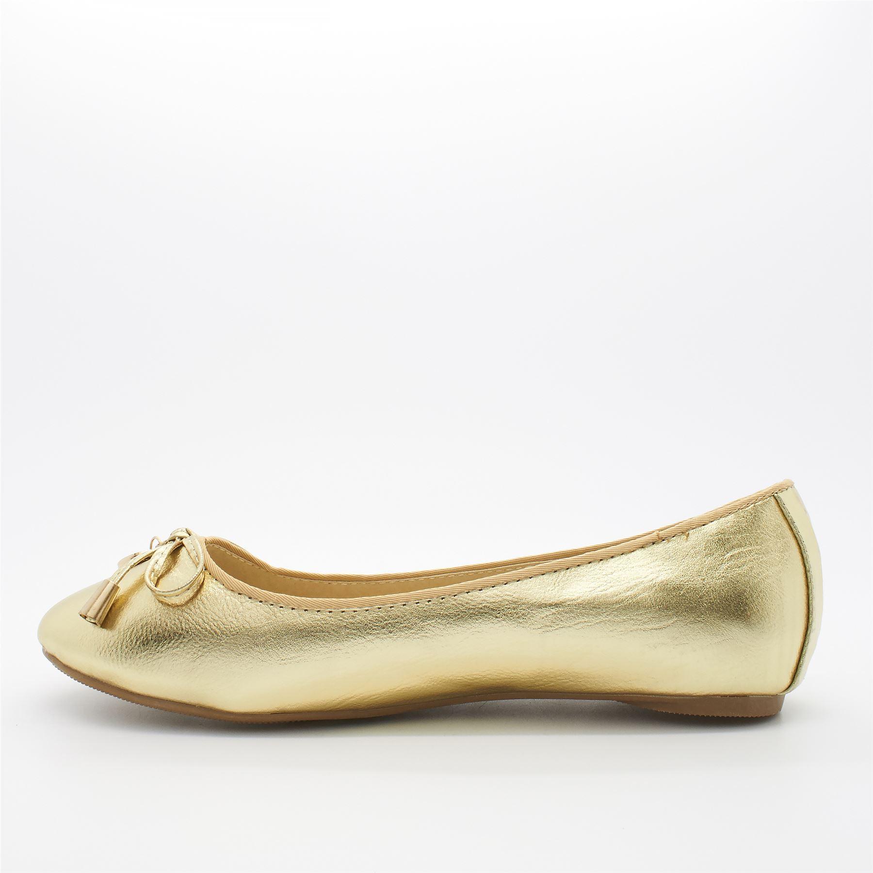 Para Niños Arco Dolly Zapatos Talla Uk Nuevos Niñas Ballet Bailarina Casual Plana Bombas