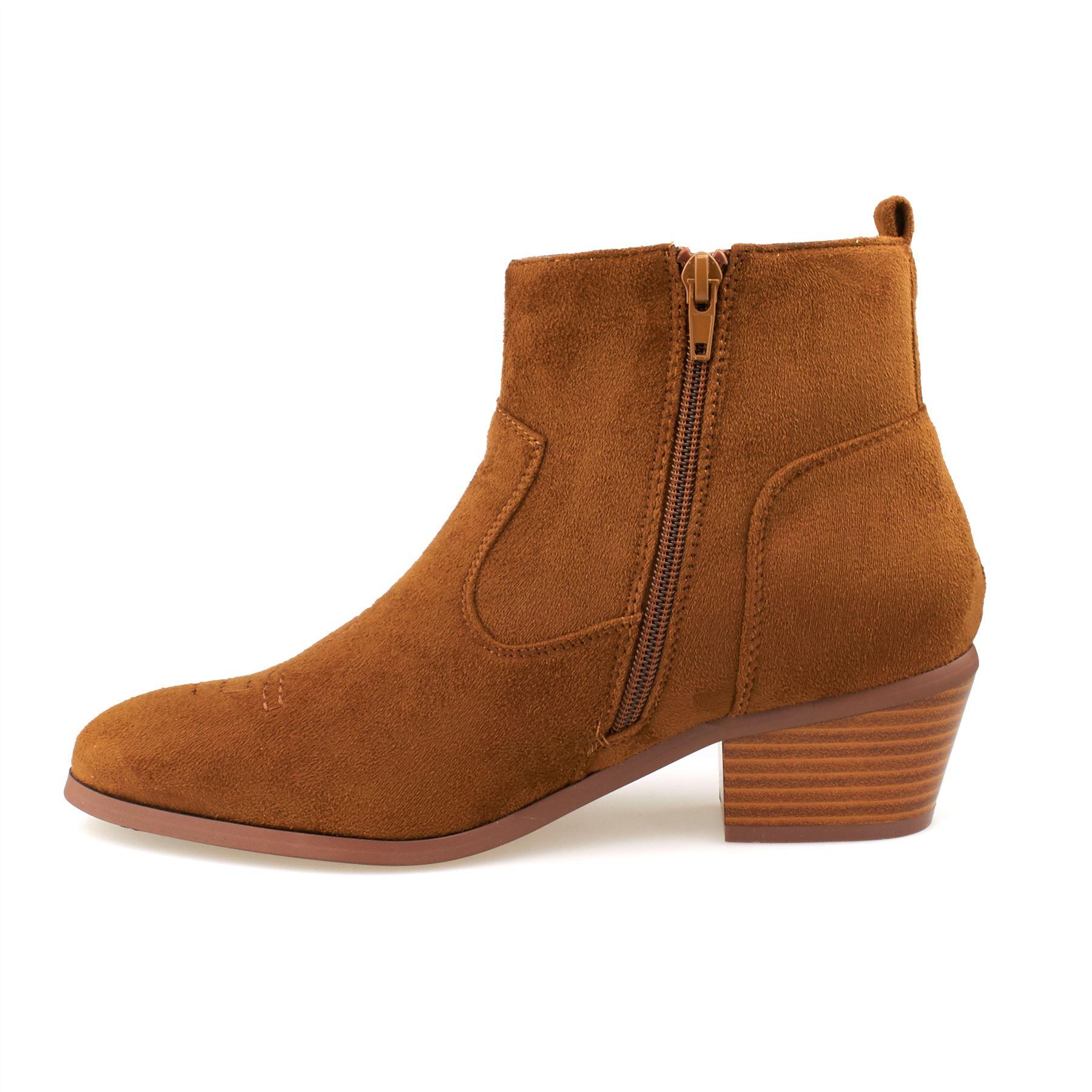 new womens flat low heel chelsea boots ladies classic