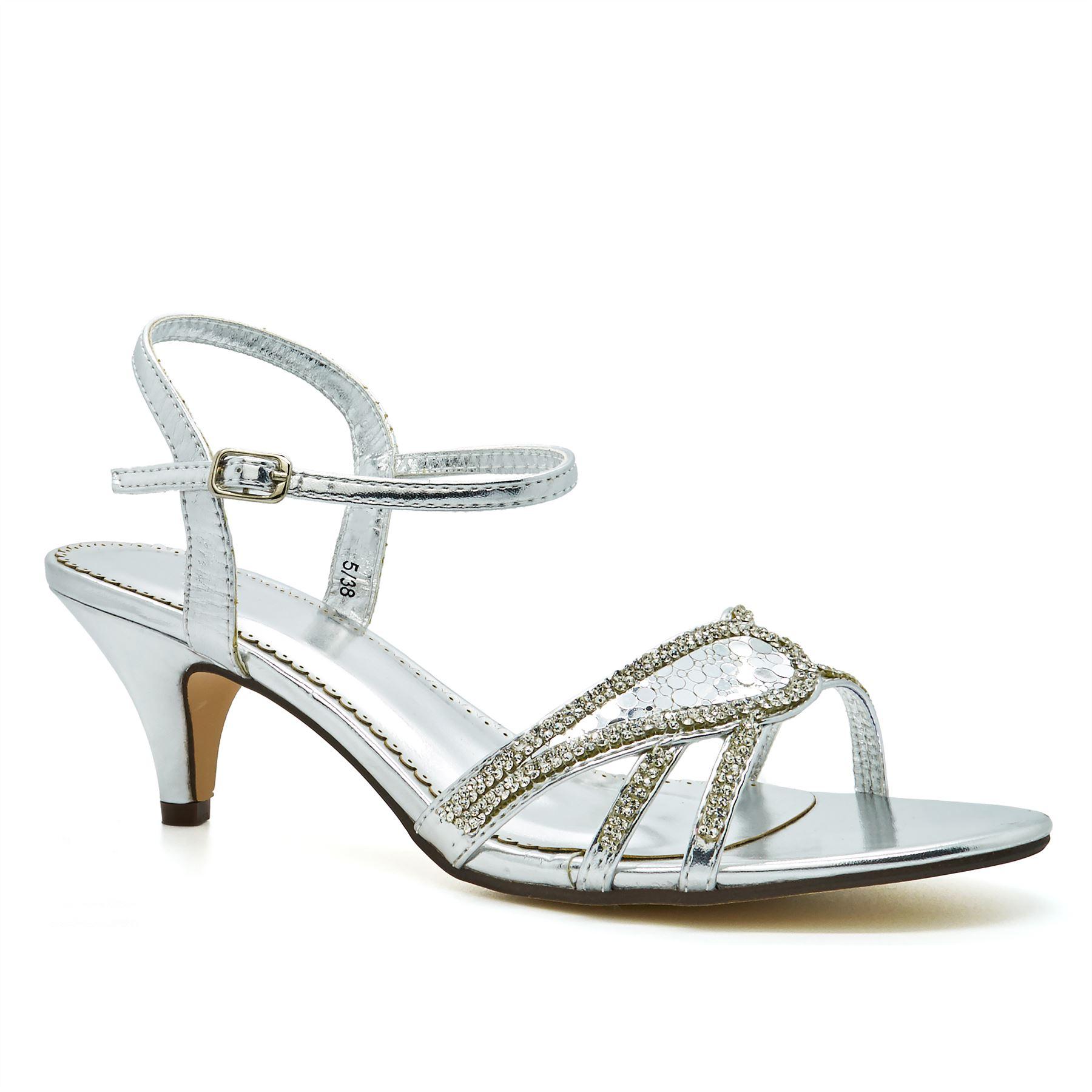 Womens Diamante Shoes