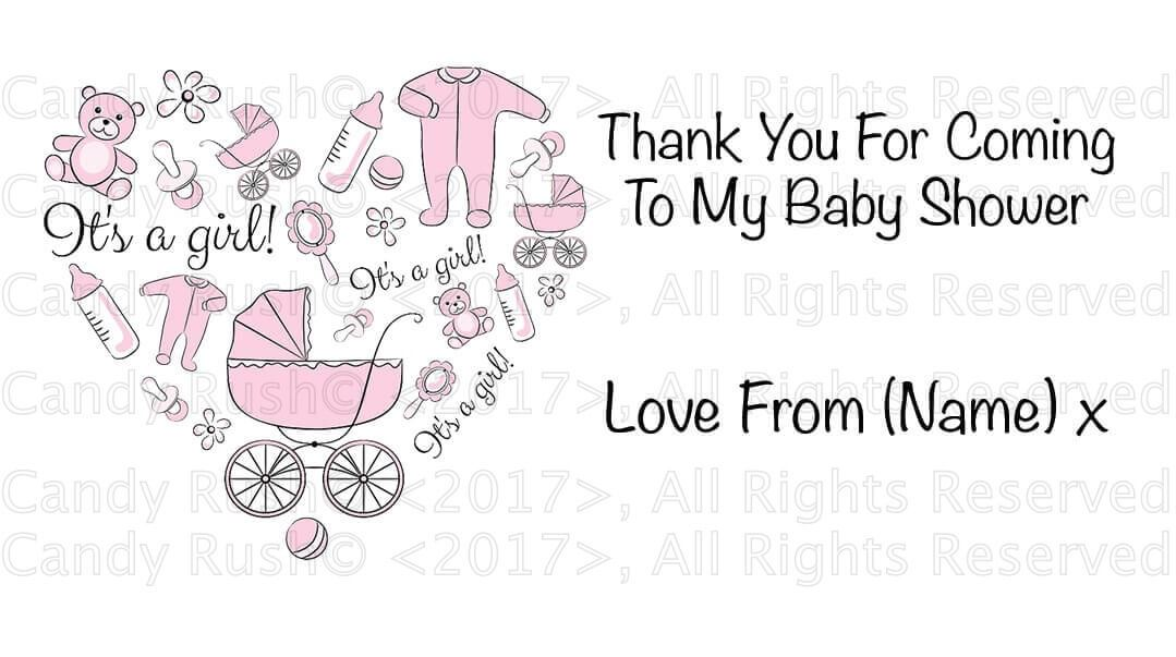personalised birthday party stickers labels thank you for coming to