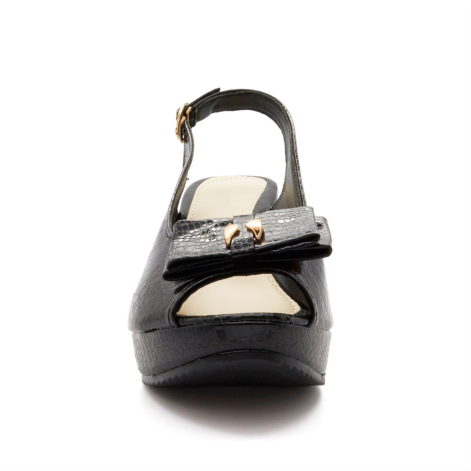 Nueva camiseta para Mujer Sandalias De Plataforma con Taco Alto Puntera abierta Correa Zapatos de verano señoras
