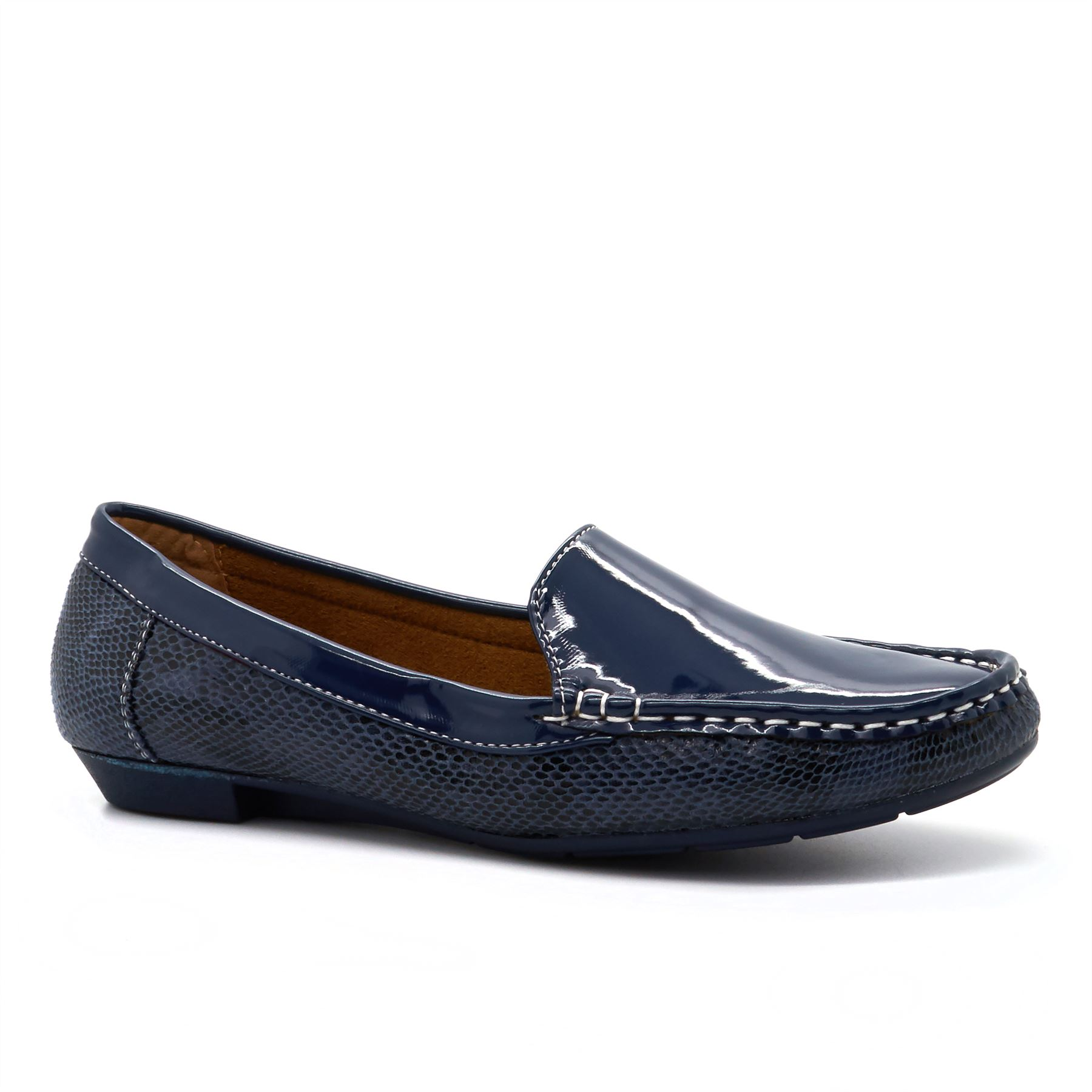 LADIES FLAT BALLERINA PUMPS 3-8 SLIP ON Mujer CASUAL COMFORT zapatos 3-8  PUMPS 7bd370 aab46b26e6