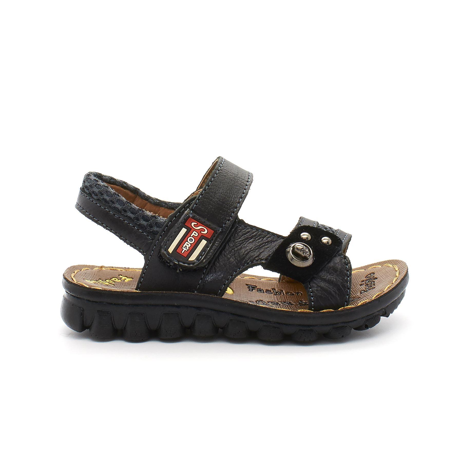 Chicos Niños Verano Velcro Deportes Niños Paseo Playa Sandalias Zapatos Talla Negro Reino Unido