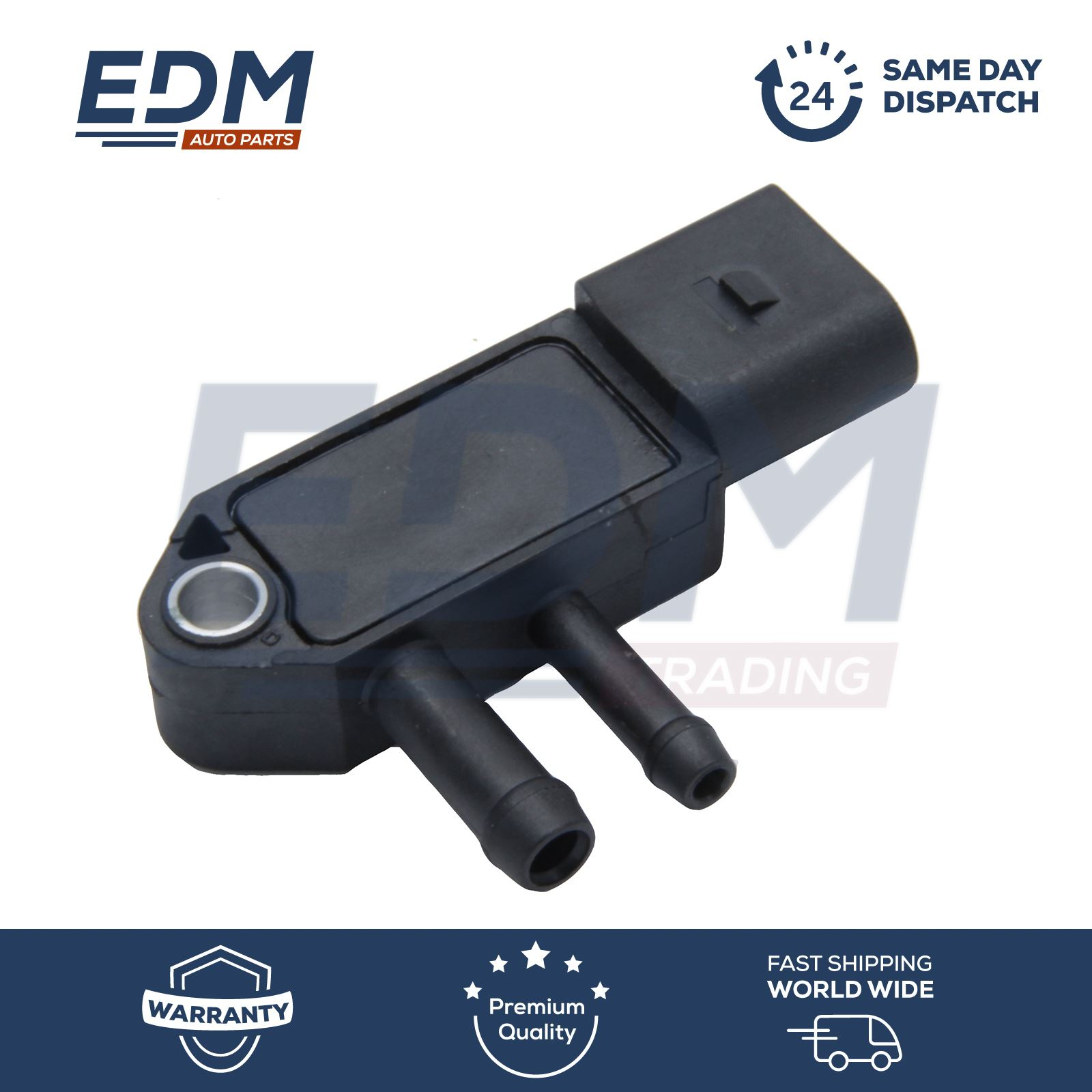 Differential Pressure Sensor Diesel Particulate Filter for Audi VW Replace OE# 076906051A 076906051B 076906051C