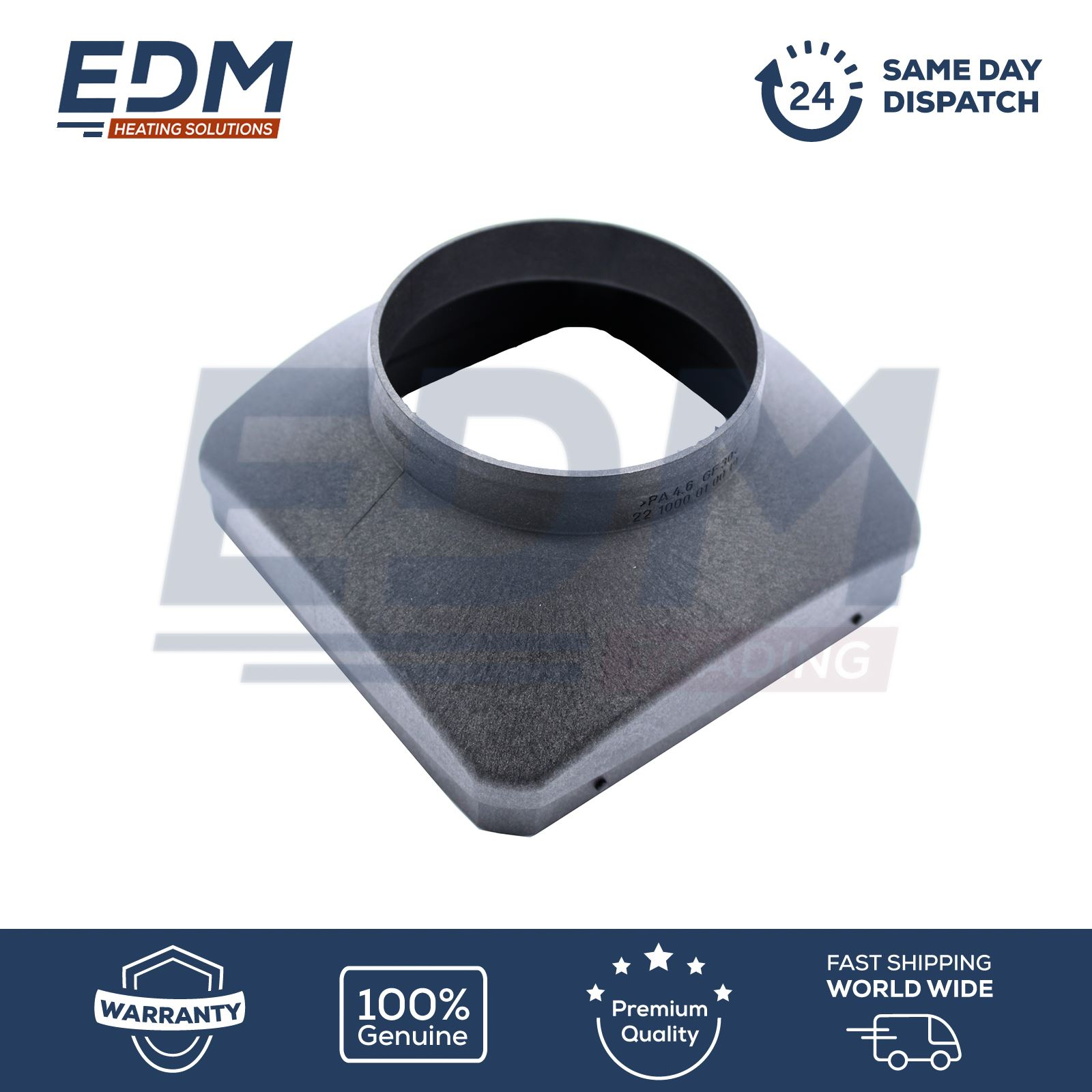 EBERSPACHER AIRTRONIC D4-90mm Straight AIR OUTLET HOOD221000010019
