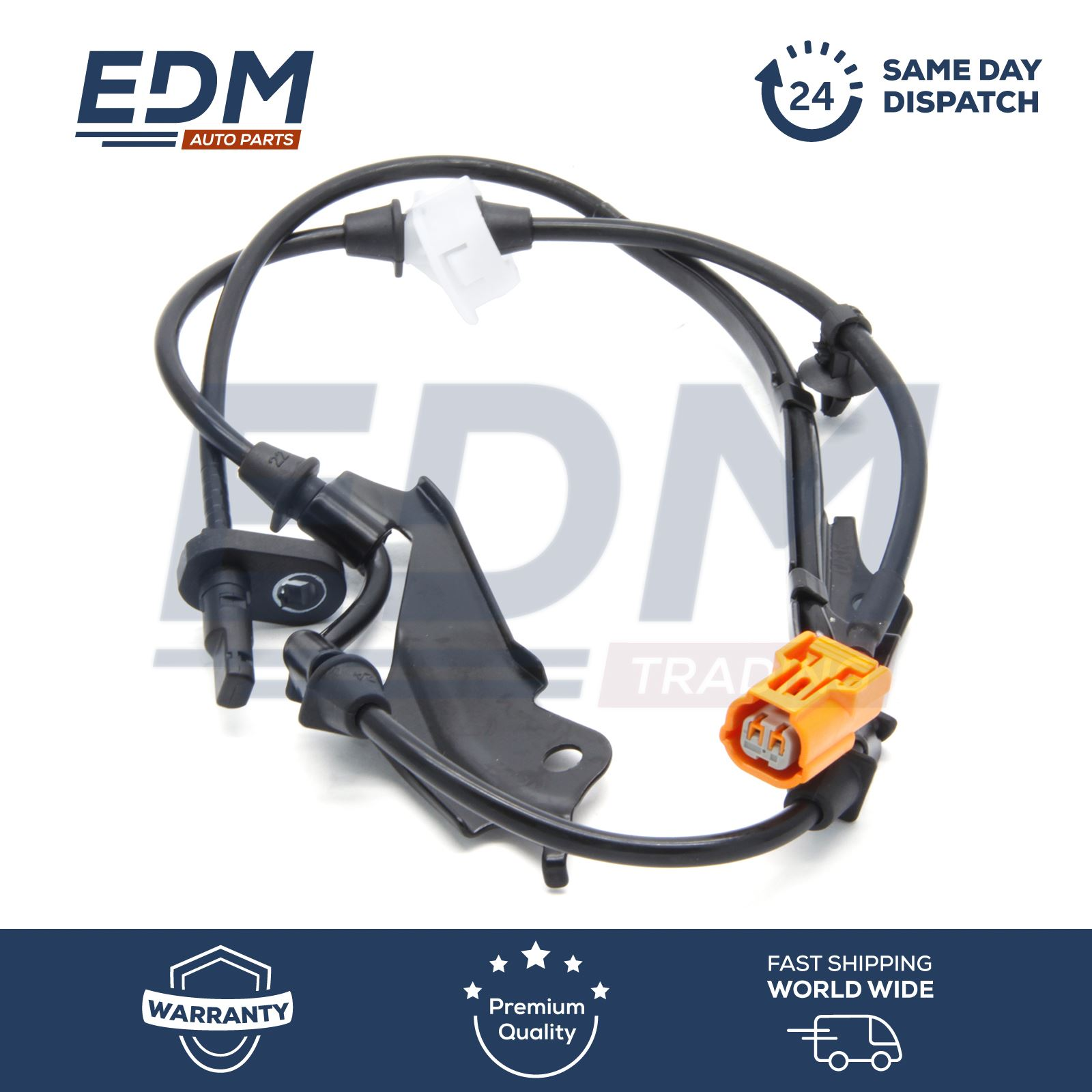 Front Right ABS Sensor Wheel Speed Sensor For Honda Accord 2003-08 57450-SDC-013