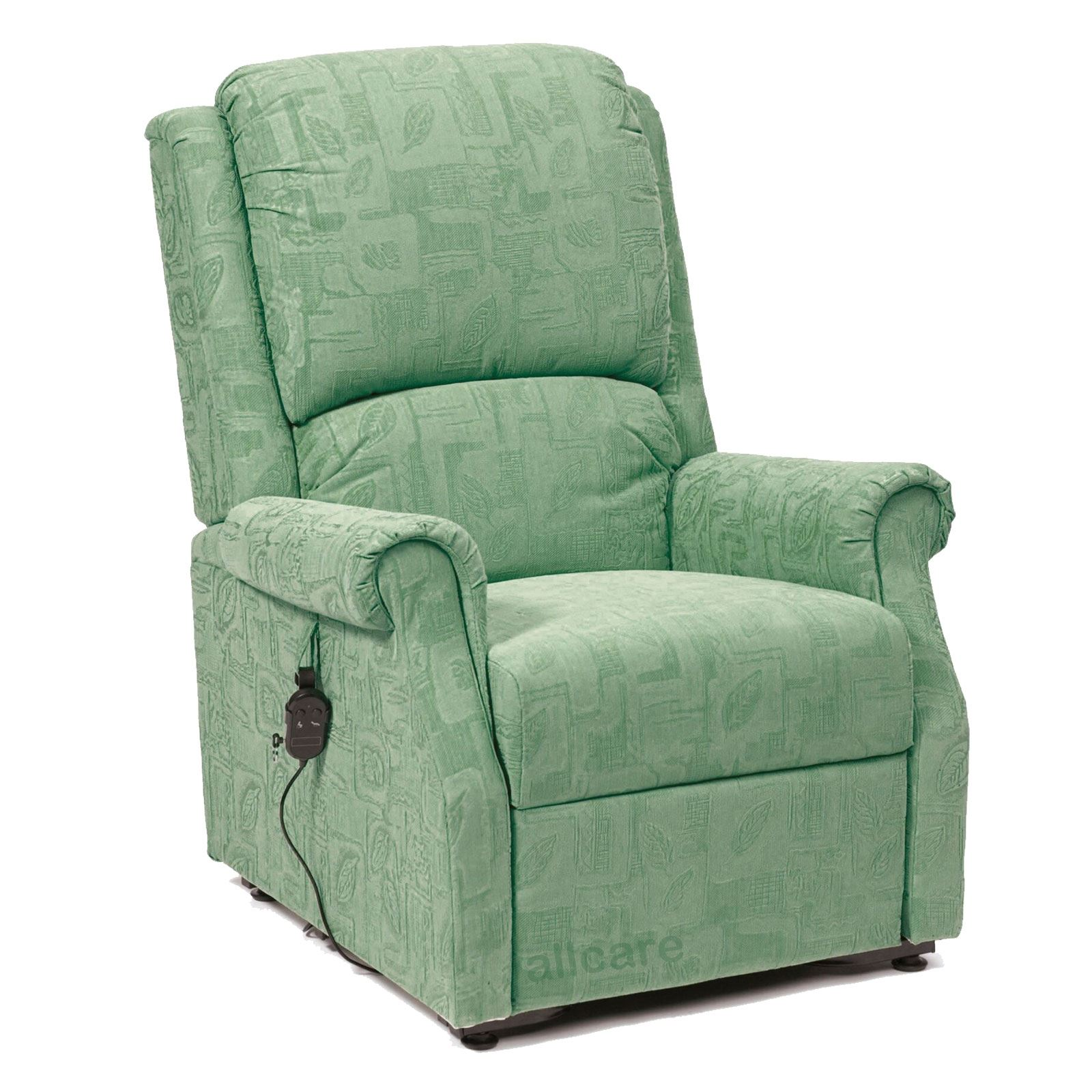 Restwell Chicago Fabric Electric Riser Recliner Chair Single Motor ...