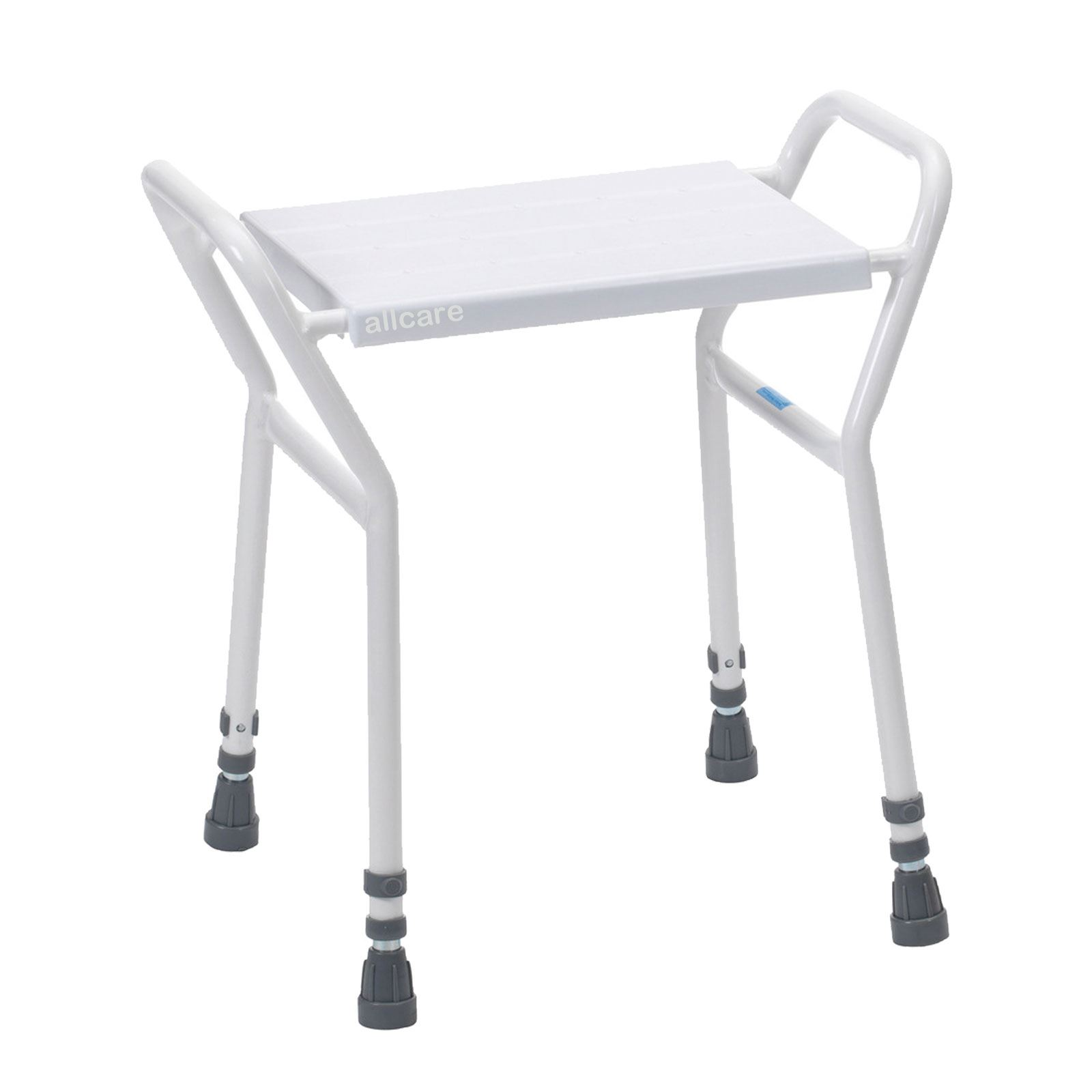 Heavy Duty Shower Seat Chair Stool Adjustable Height Mobility ...