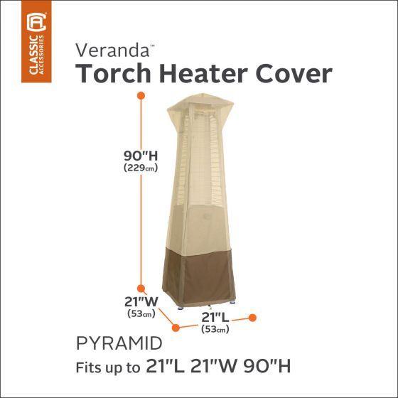 Veranda Pyramid Patio Heater Cover High Quality Fits