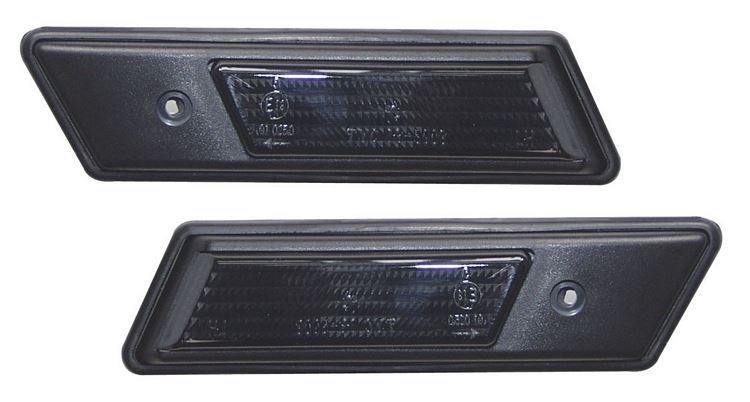 SIDE INDICATOR REPEATERS EXCLUDING M3 SMOKED BMW 3 SERIES E30