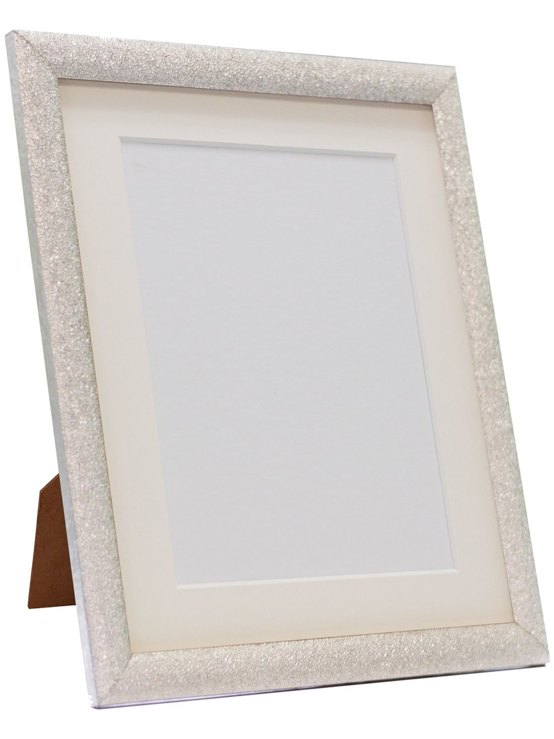 Glitz Silver Picture Photo Frames With White Black and Other ...