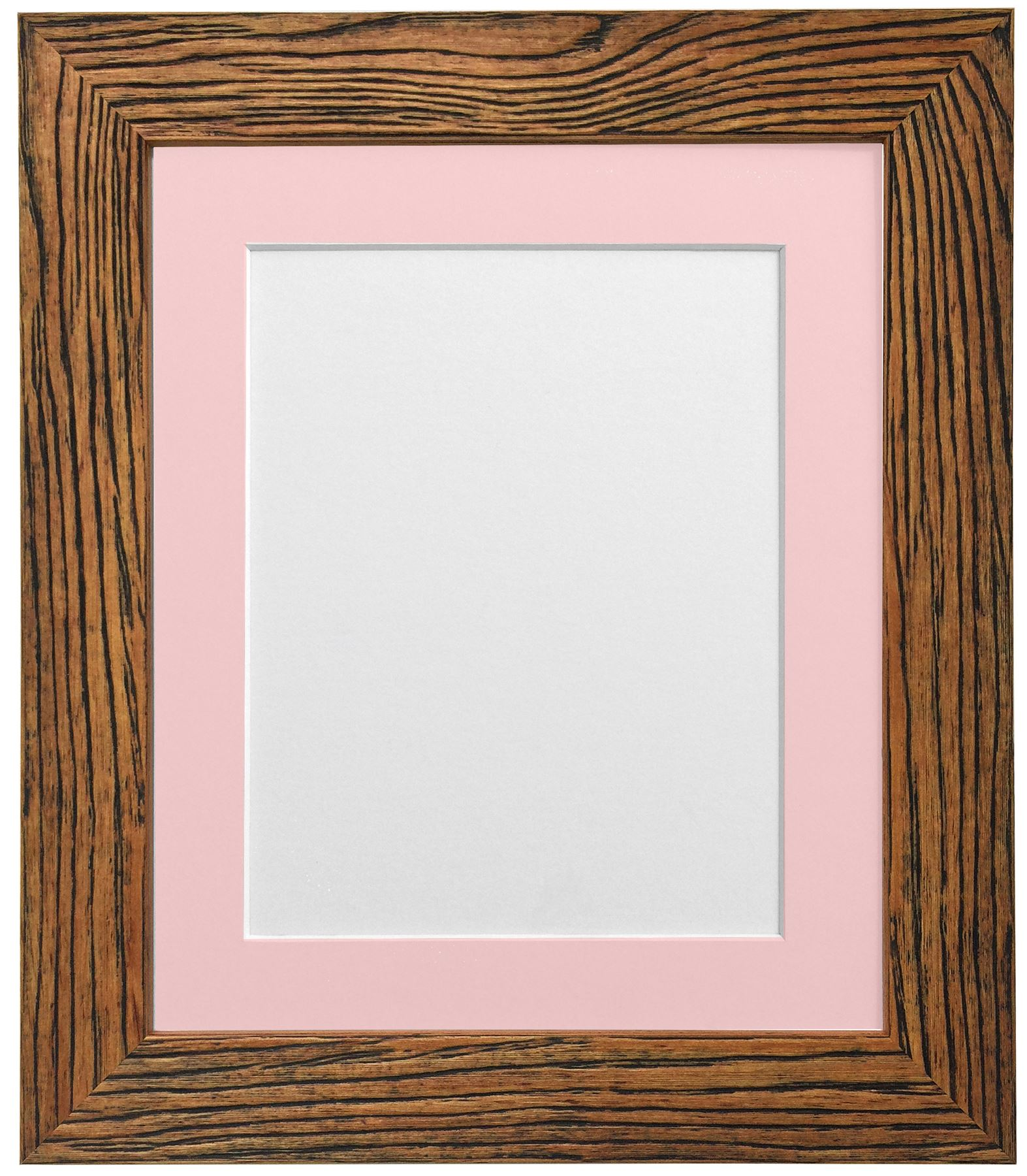 Weathered Grain Oak Picture Photo Frame With Black White and Other ...