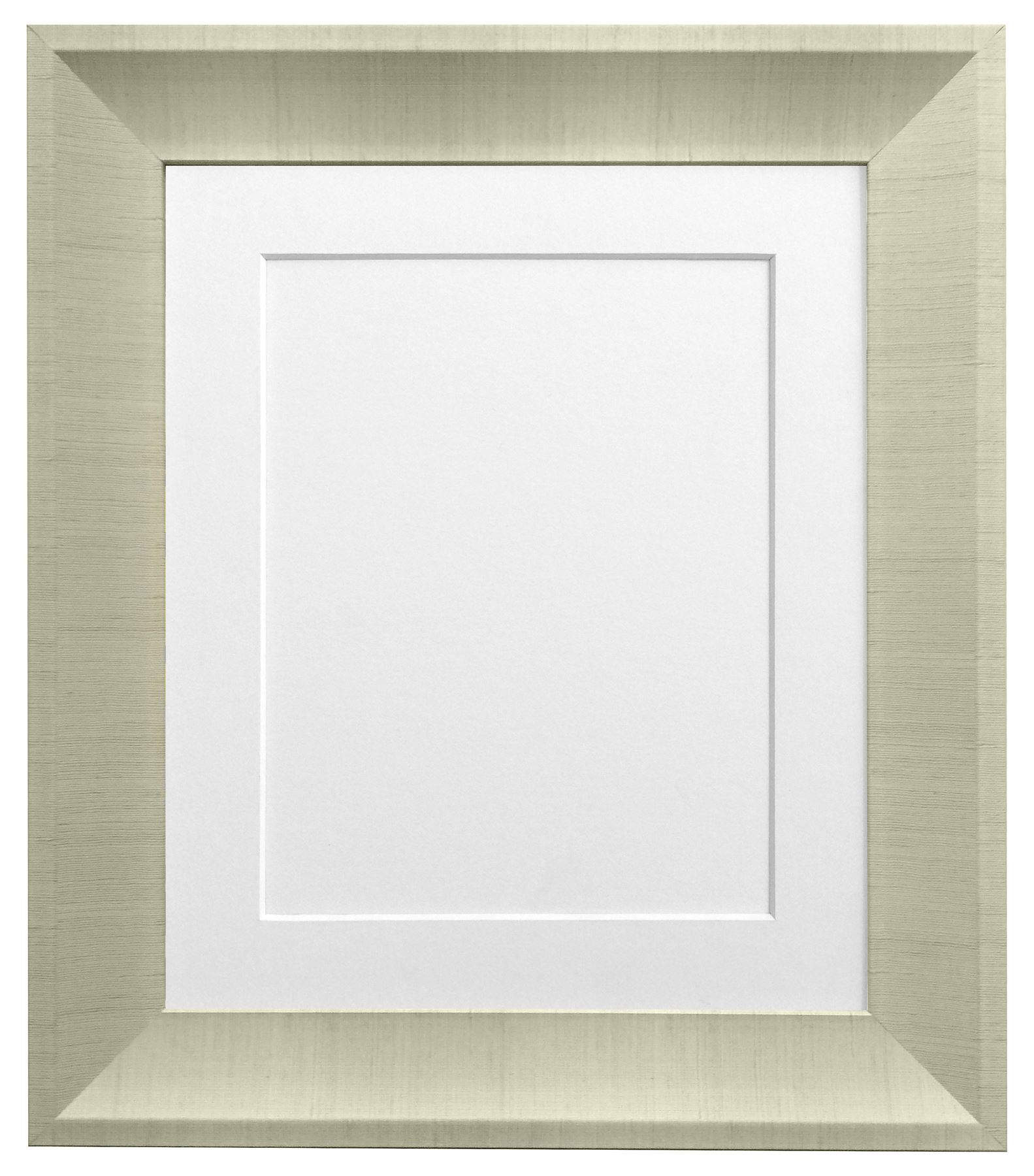 Linen Cream Picture Photo Frame With 7 Coloured Mounts White Mount ...
