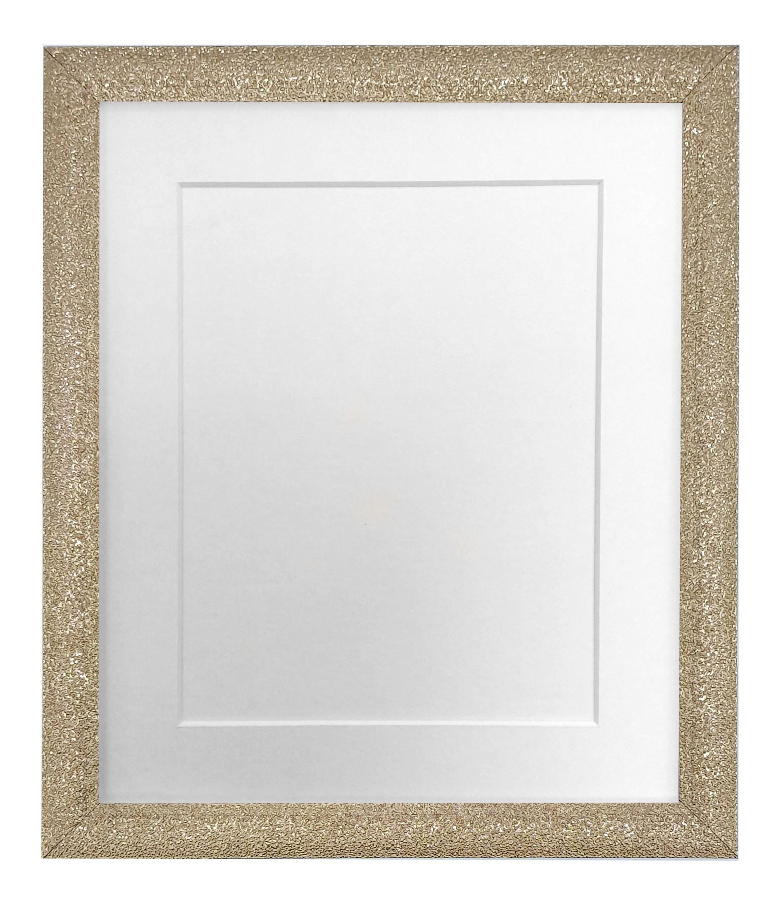 Details about glitz gold picture photo frame with white black ivory and other colour mounts