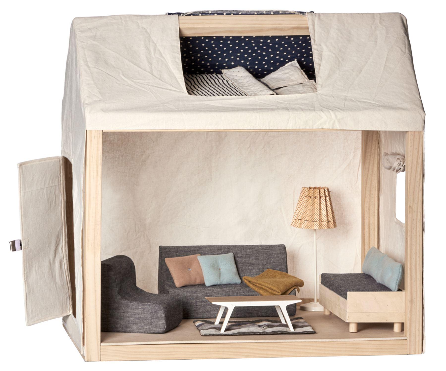 Maileg - The Ginger Familie heim / Haus - Möbel inklusive wie ...