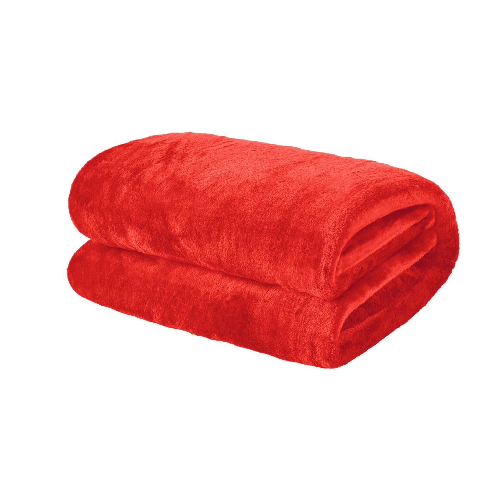 thumbnail 3 - Brentfords Large Flannel Fleece Bed Blanket Warm Throw Over Ultra Soft Bed Sofa