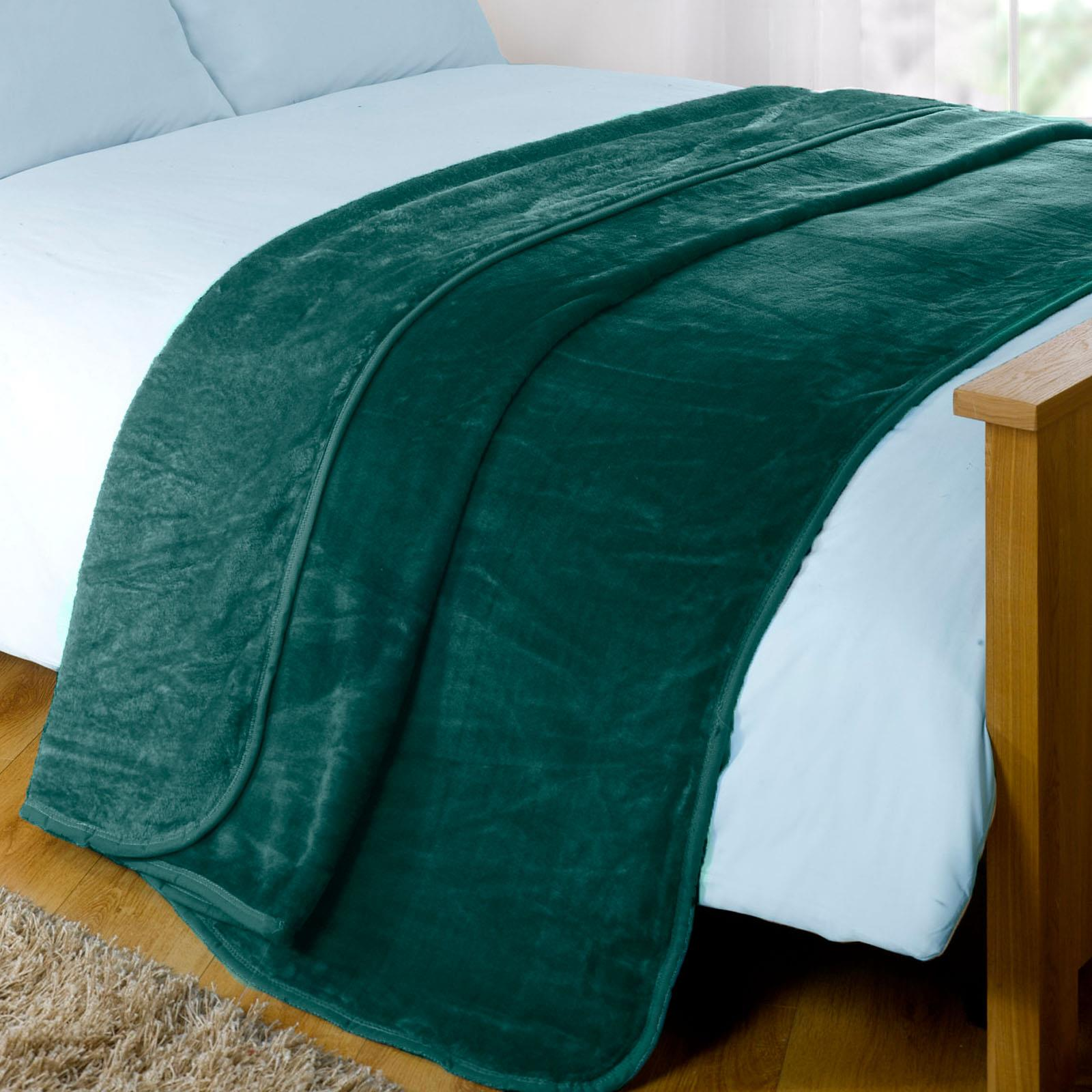 thumbnail 9 - Dreamscene Large Luxury Faux Fur Throw Sofa Bed Mink Soft Warm Fleece Blanket