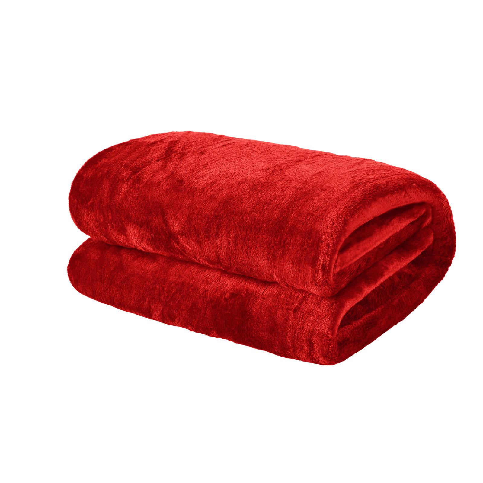thumbnail 21 - Brentfords Large Flannel Fleece Bed Blanket Warm Throw Over Ultra Soft Bed Sofa