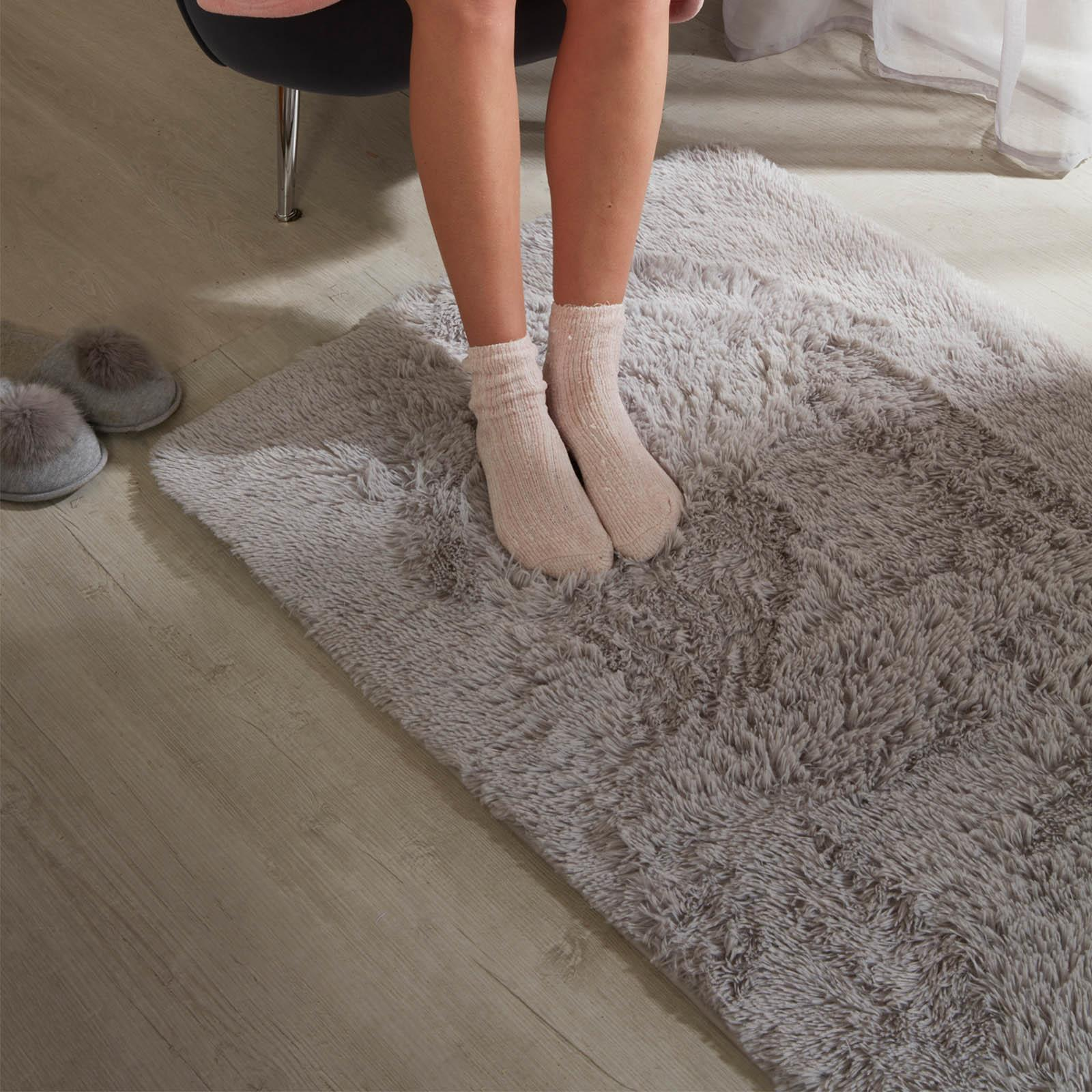 Sienna-Fluffy-Rug-Anti-Slip-Skid-Shaggy-Large-Bedroom-Non-Shed-Floor-Carpet-Mat thumbnail 10