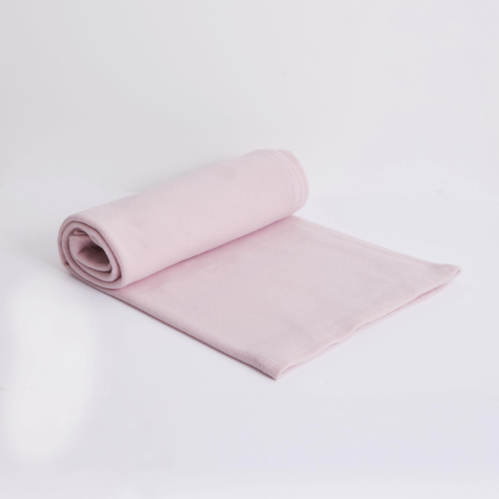 thumbnail 4 - Wholesale 10 x Plain Fleece Blanket Bulk Warm Sofa Throw Over 120 x 150cm Joblot