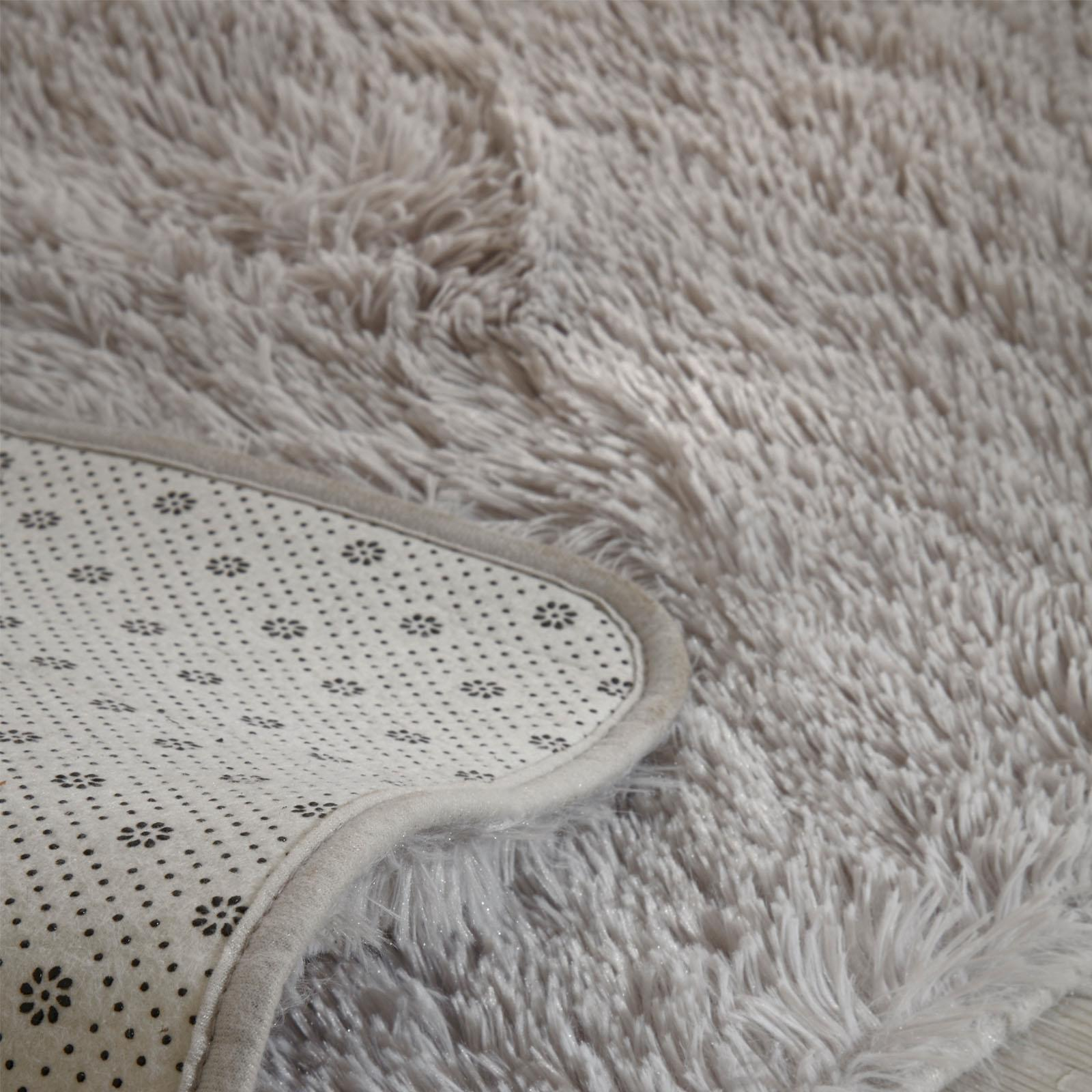 Sienna-Fluffy-Rug-Anti-Slip-Skid-Shaggy-Large-Bedroom-Non-Shed-Floor-Carpet-Mat thumbnail 11