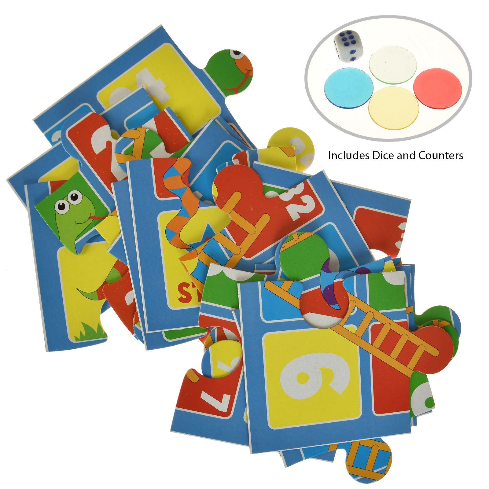 16pc-Mon-Premier-Puzzle-Enfants-educatif-Problem-Solving-jeu-jouet miniature 9