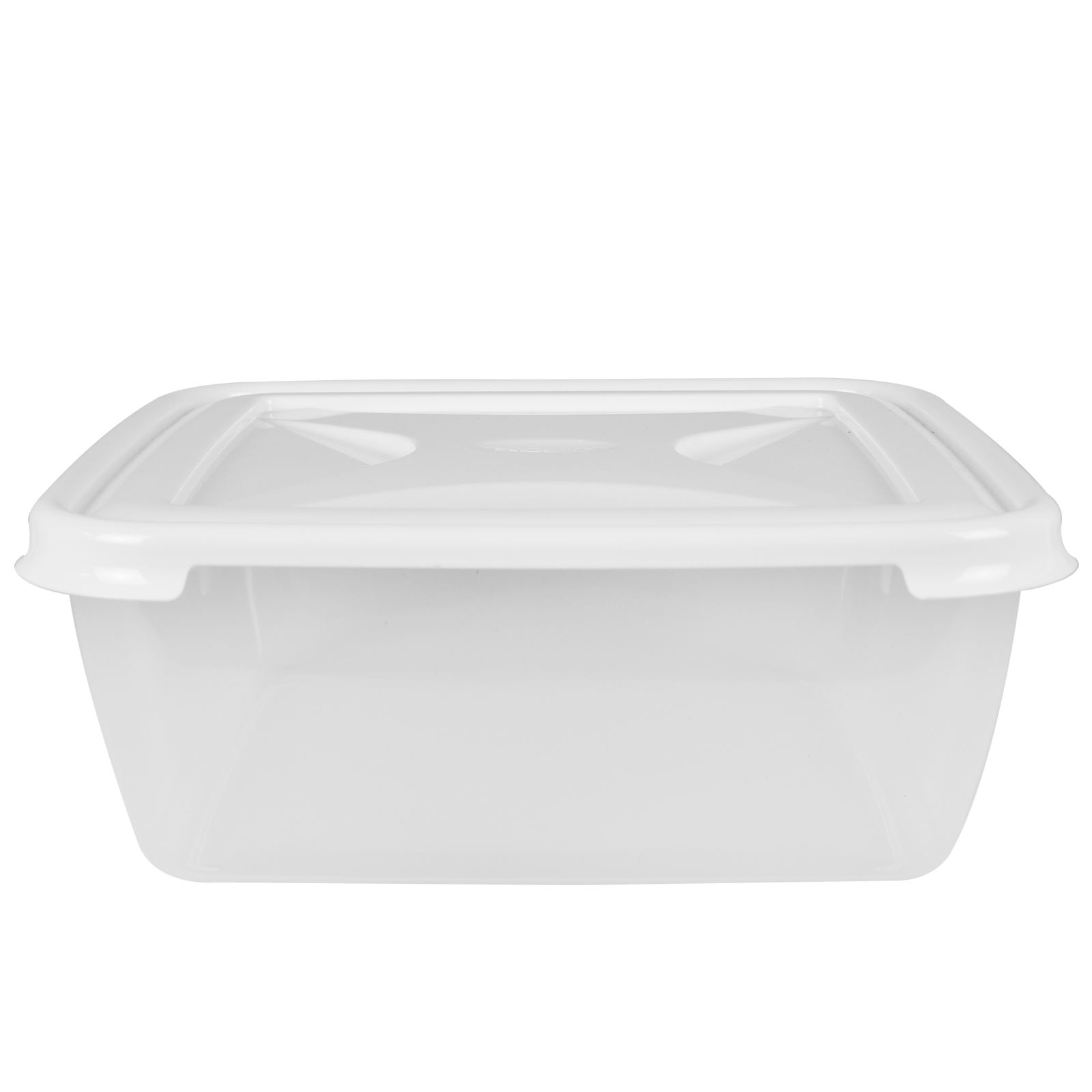 Wham-Plastic-Food-Storage-Shelf-Box-Stackable-Containers-Clear-Secure-Clip-Lid thumbnail 6