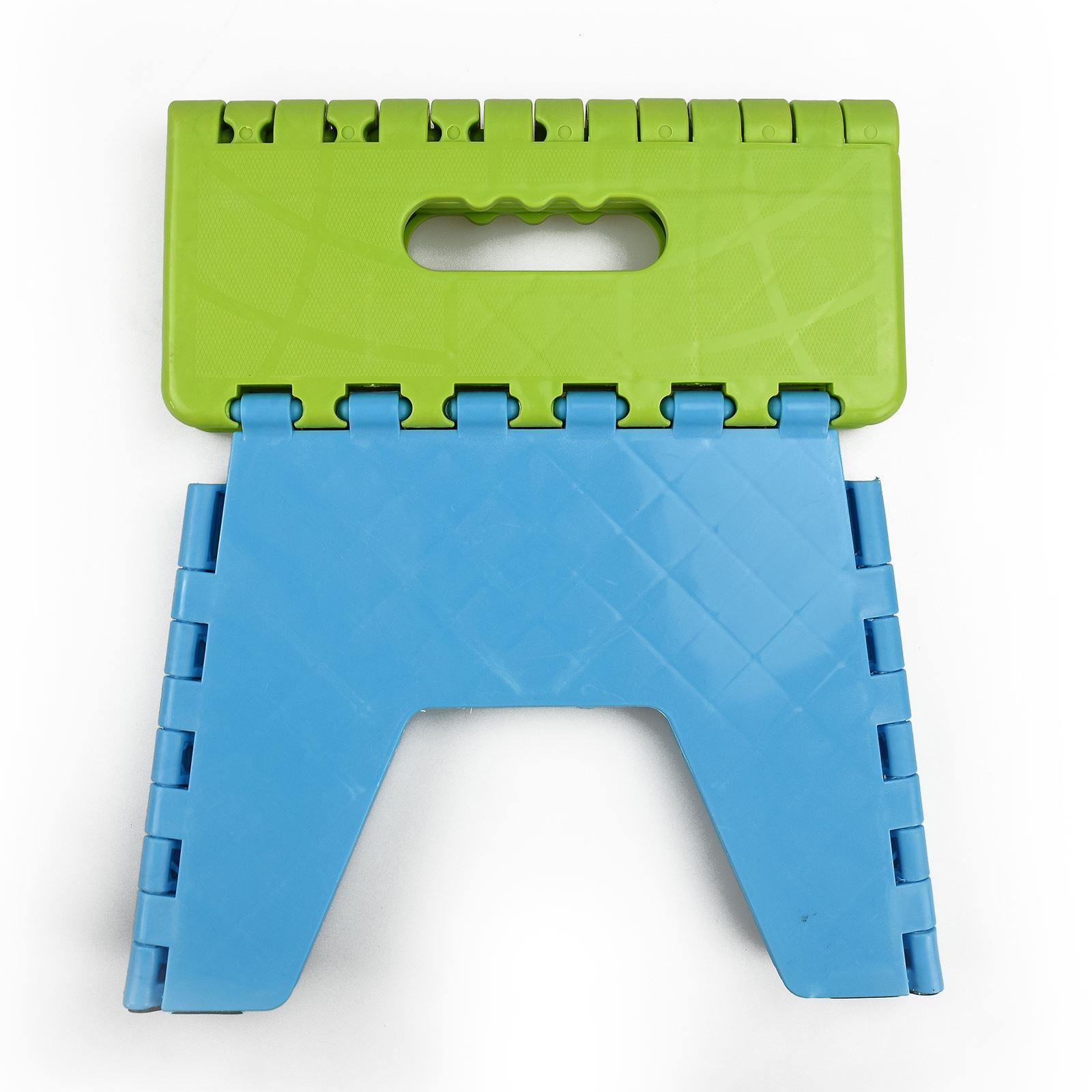 New Plastic Multi Purpose Folding Step Stool Home Kitchen