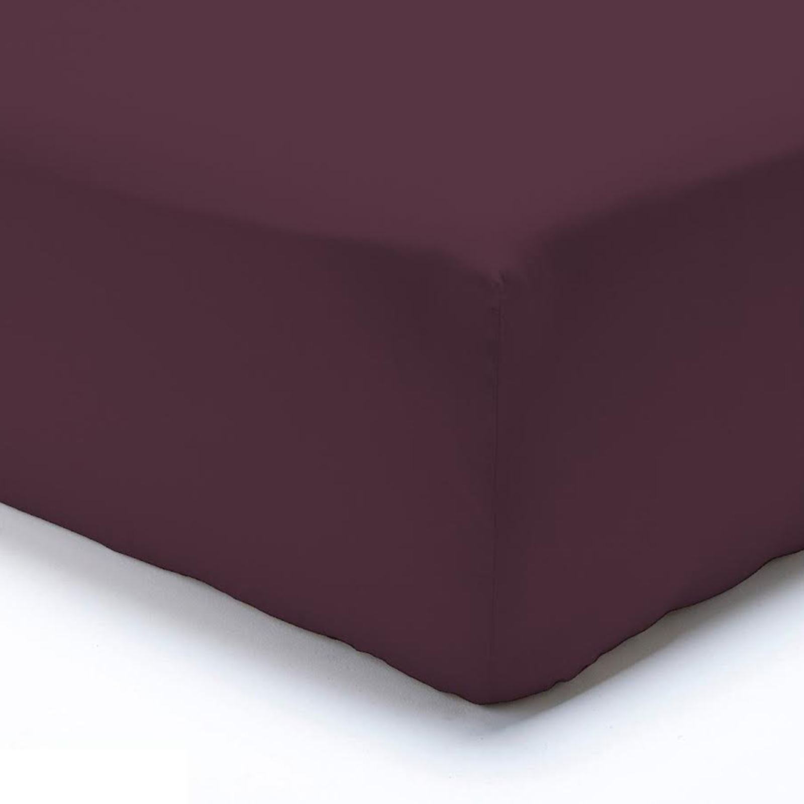 Extra-Deep-Egyptian-100-Fitted-Sheets-Bed-Sheets-Pillow-Cases-Double-King thumbnail 5
